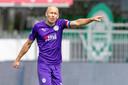 Arjen Robben tijdens het duel met FC Emmen.
