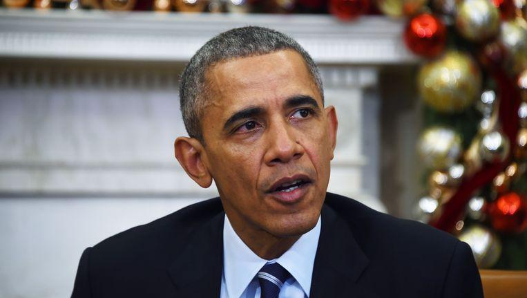 President Barack Obama. Beeld ANP