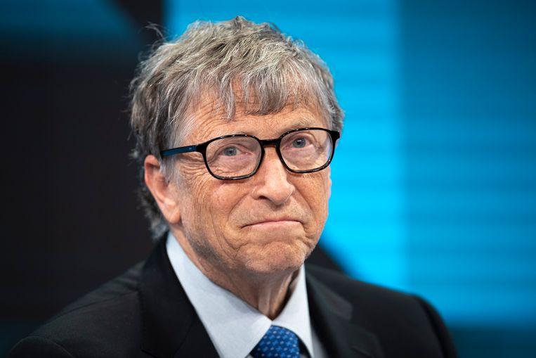 Bill Gates wordt naast Jeff Bezos de tweede man met een vermogen van meer dan 100 miljard dollar. Beeld EPA