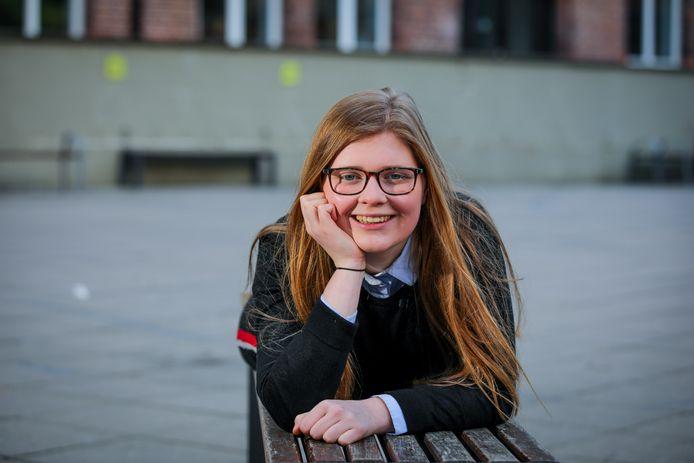 Brugge klimaatactiviste Tatyana Decelle