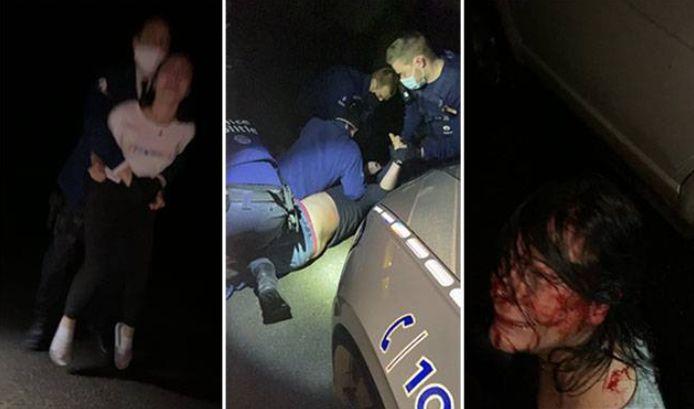 Trois prévenus, membres d'une même famille, sont poursuivis pour des préventions de rébellion et de coups et blessures à l'encontre de policiers.