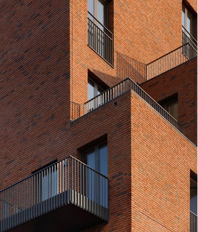 Het pand aan de Grensstraat 120-146. Beeld Floor van Spaendonck en Gijs Stork