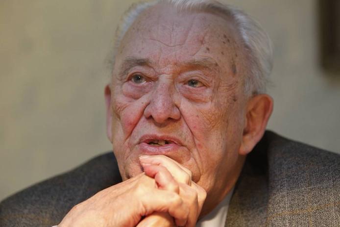 Oud-burgemeester Jac. Geukers. foto Ton van de Meulenhof