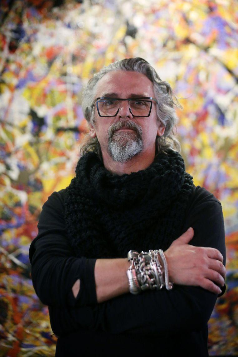 Meubelontwerper Thierry Wille (48).