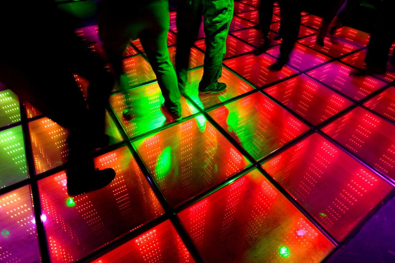 Traditionele disco's verliezen het van modernere horeca-zaken die zowel een dj hebben staan als ook food en  dining aanbieden.. ANP PHOTO ROBIN UTRECHT