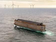 Ark van Noach keert na tien jaar rondreizen terug op het oude nest in Sliedrecht