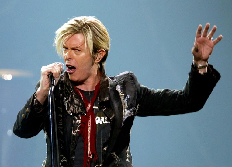 David Bowie in 2003. Beeld REUTERS