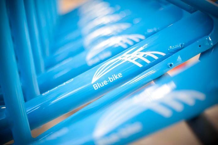 Over het hele land zijn reeds Blue Bikes te vinden, nu ook in Bouwel bij Grobbendonk