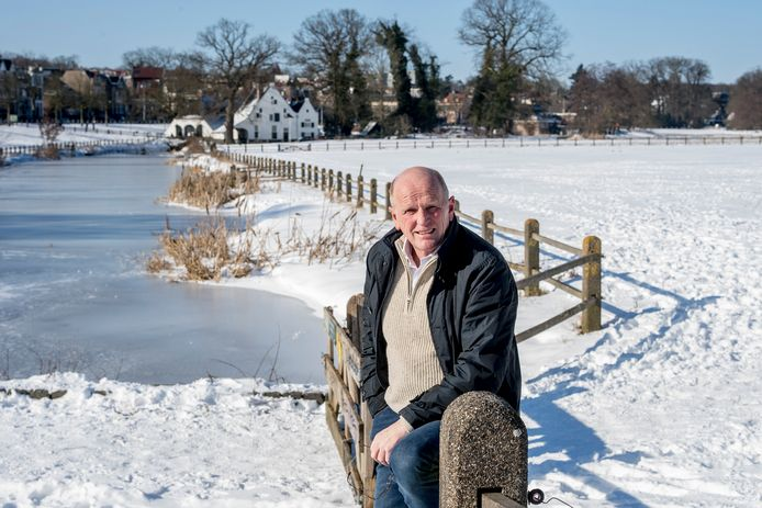 Jan Streuer woont om de hoek bij het fraaie, en nu ondergesneeuwde, Sonsbeekpark in Arnhem.