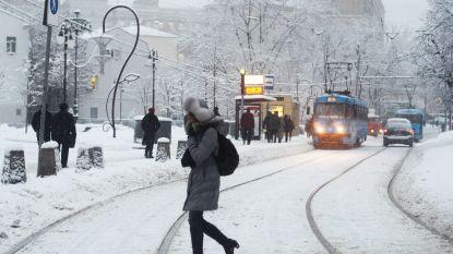 Vervelende 'vortex' doet ons bevriezen: nog tot en met volgende week extreem koud