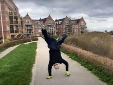 Het kan dus nóg gekker: breakdancer Jeroen (30) gaat koprollend van Gorinchem naar Rotterdam