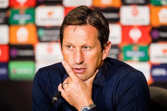 Roger Schmidt beschouwt het duel met Real Sociedad na.