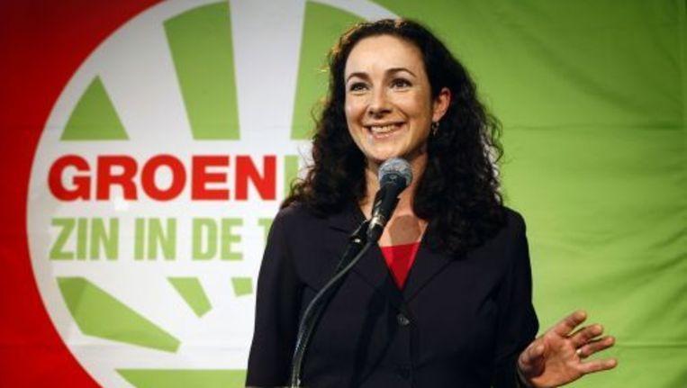 GroenLinks-fractievoorzitter Femke Halsema. ANP Beeld