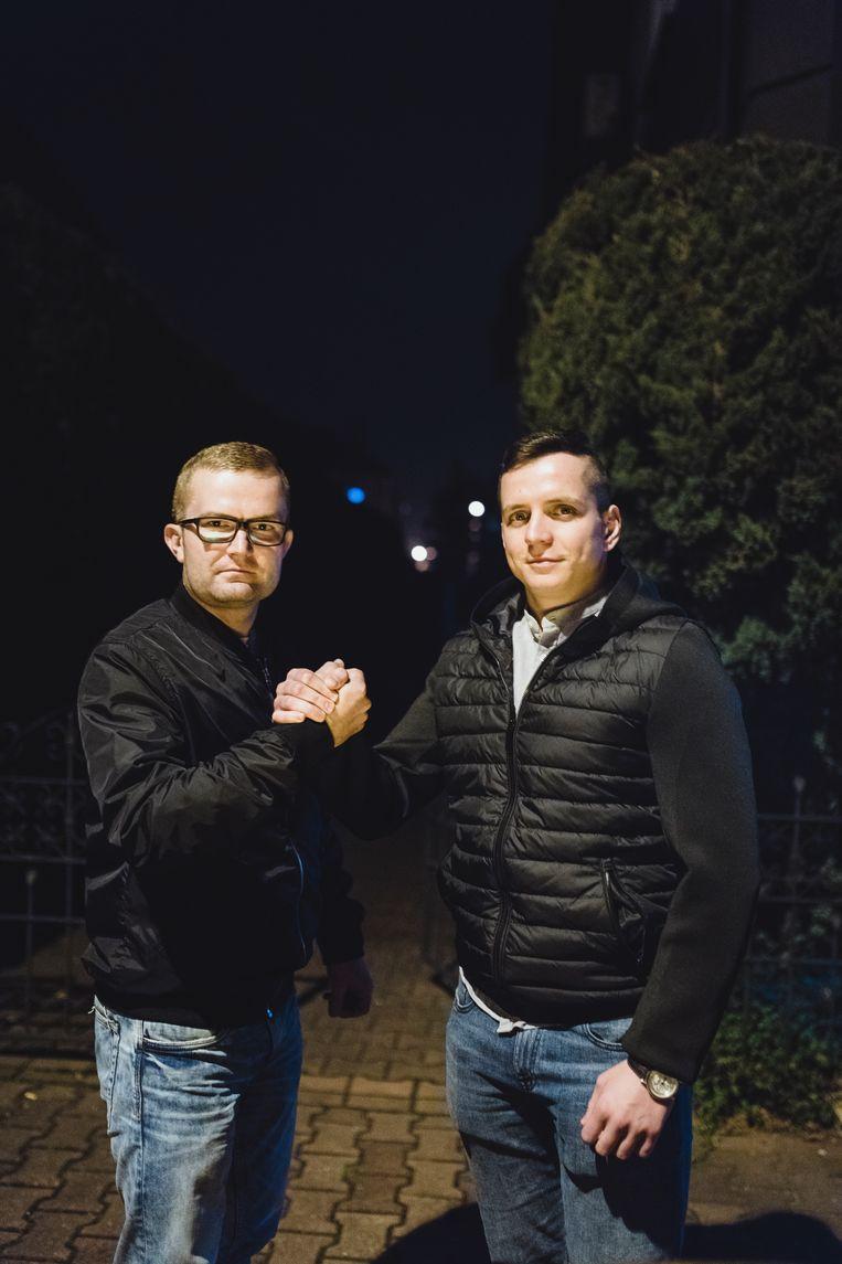 Damian Palka & Wiktor Koziorz.  Beeld Fabian Weiss