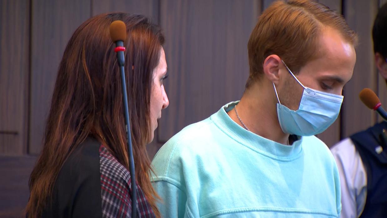 Alexandru Caliniuc (27) is schuldig bevonden aan de verkrachting van en moord op Sofie Muylle. Beeld VTM NIEUWS