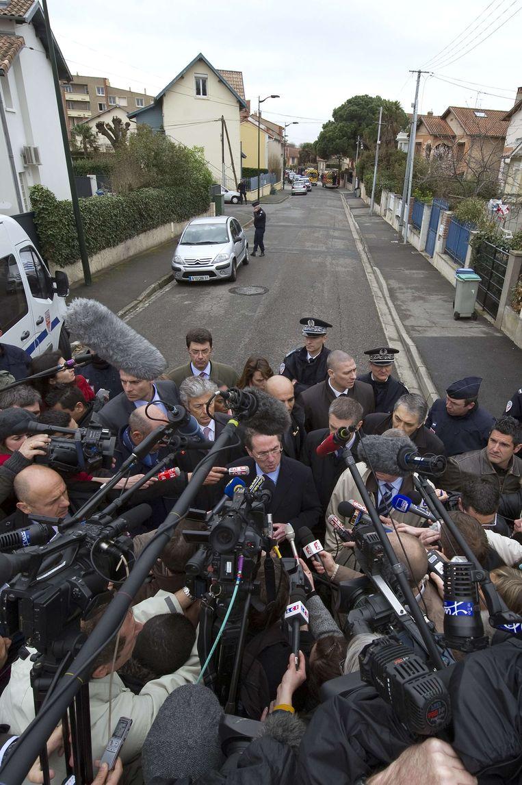 De aanslagen in Toulouse en Montauban schokten Frankrijk vorig jaar. Beeld AFP