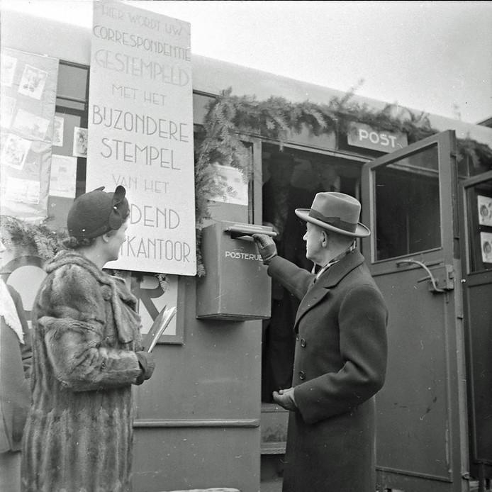 Rijdend Postkantoor in Eindhoven