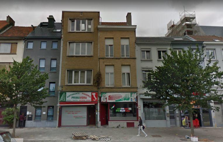 Zo zagen de gebouwen aan de Paardenmarkt eruit voor de explosie gisteravond. Beeld Google Streetview
