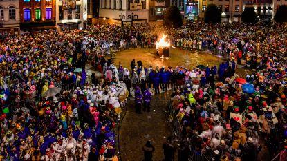 De pop (met wat regenachtige moeite) in brand, carnaval gaat laatste feestnacht in