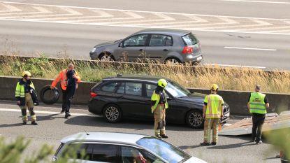 BMW botst tegen middenberm