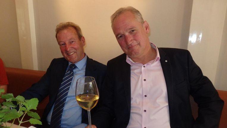 Rolf van Miggigen en Ferencz Deli van Natural 4 Sure: 'Dit is best wel een heel bijzonder moment.' Beeld Schuim