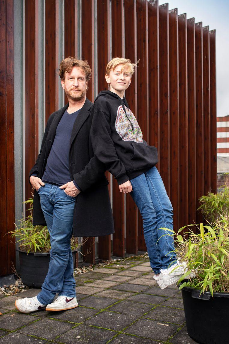 Jim en Stijn. Beeld Harmen De Jong