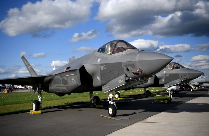 Des F-35 Lightning II présentés à Berlin.