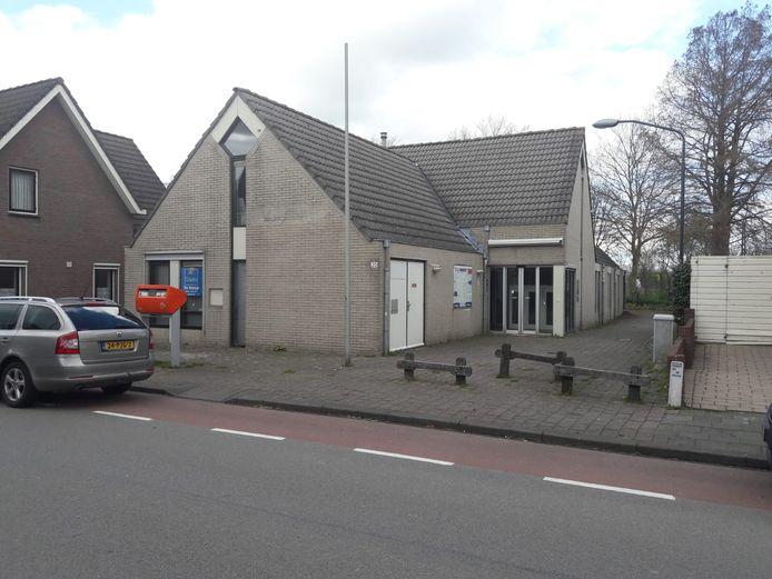 De voormalige bibliotheek aan de Heistraat in Sprang-Capelle.