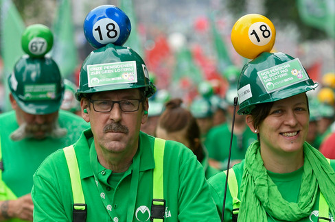 """Foto van In beeld: """"Onze pensioenen zijn geen loterij"""""""