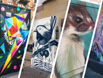 Tour Elentrik-route brengt je langsheen nutsvoorzieningskasten met street art