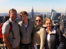 Voor het eerst ging Katja niet met haar familie op reis