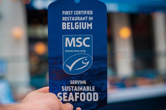 Het MSC-label.