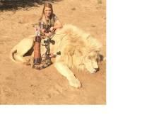 Cheerleader haalt woede op hals na jagen op wilde dieren