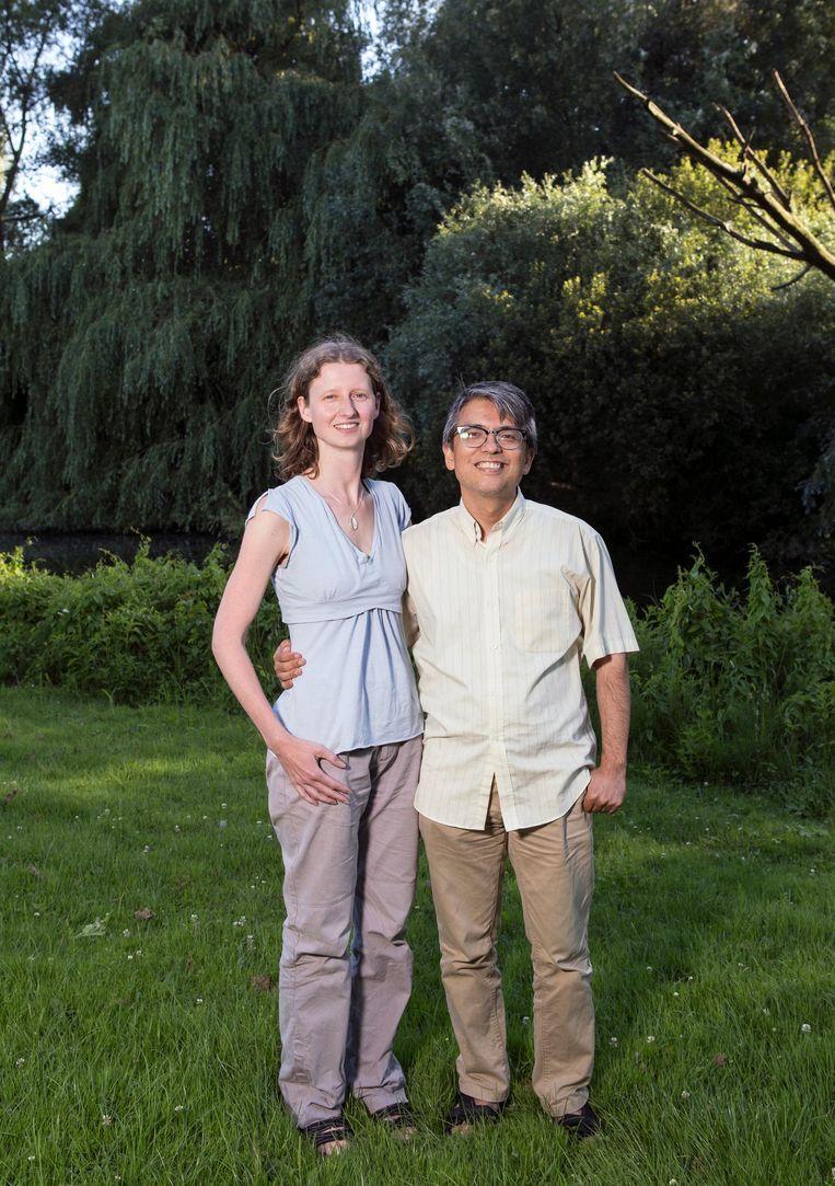 Diana Wittendorp en Kwang Yul Jang Beeld Sanne Zurné