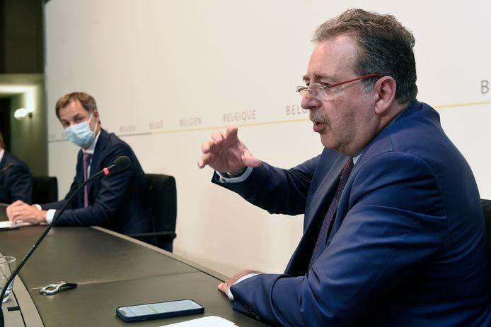 De Brusselse minister-president Rudi Vervoort.