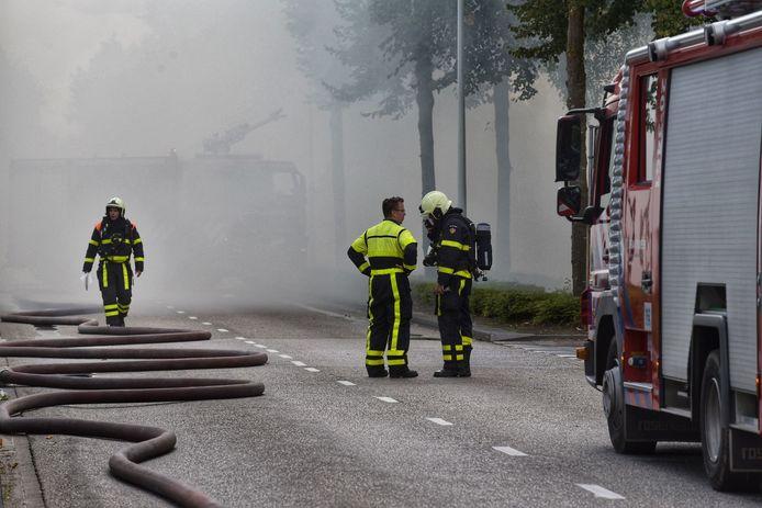 Woningbrand aan Antwerpseweg in Rijsbergen.