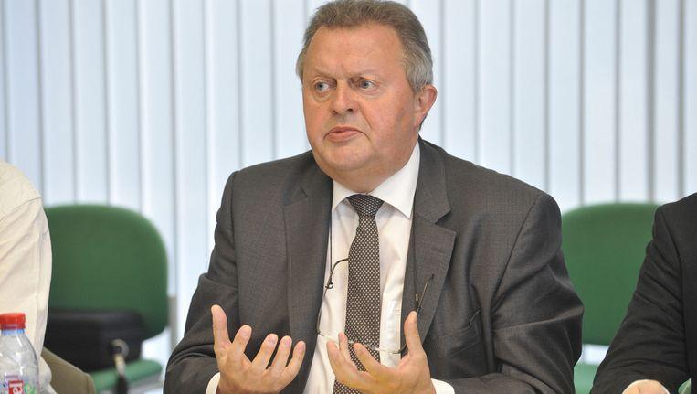 Voorzitter Piet Vanthemsche. Beeld BELGA