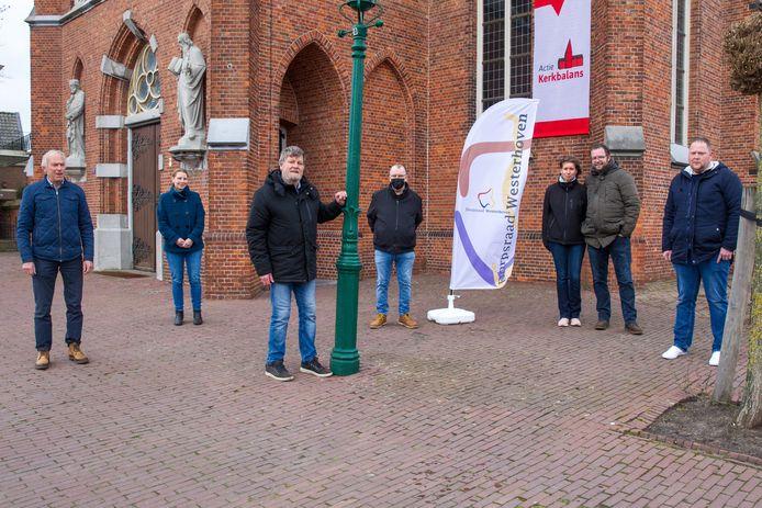 Leden dorpsraad Westerhoven in nieuwe samenstelling