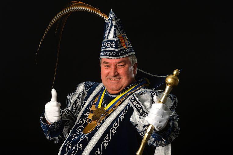 Jan Hendrickx is door de Orde van Spasbinken aangesteld als prins carnaval anno 2019.