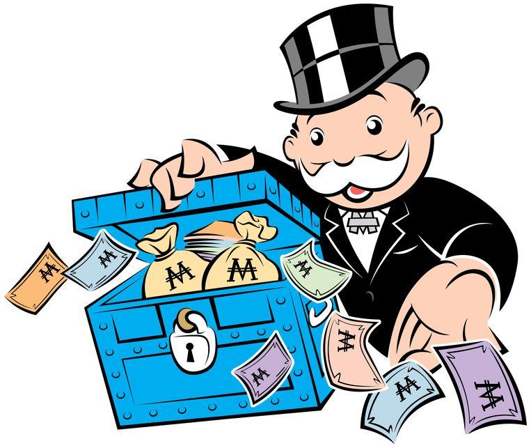 Mr Monopoly Beeld Monopoly