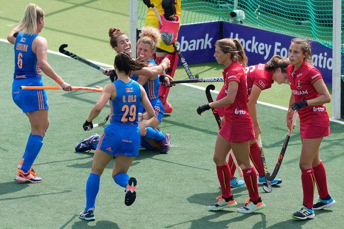 Direction la finale pour les Néerlandaises, objectif troisième place pour les Red Panthers.