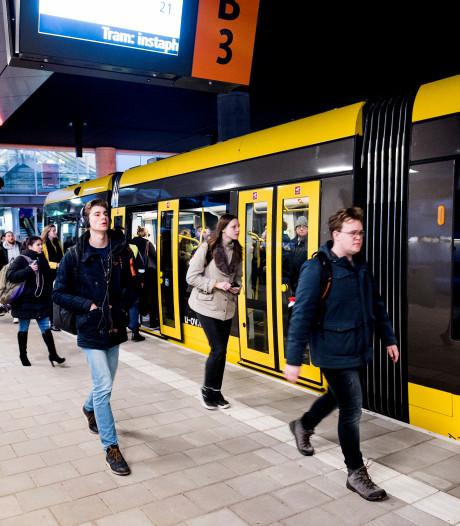 Trams Uithoflijn rijden weer na storing
