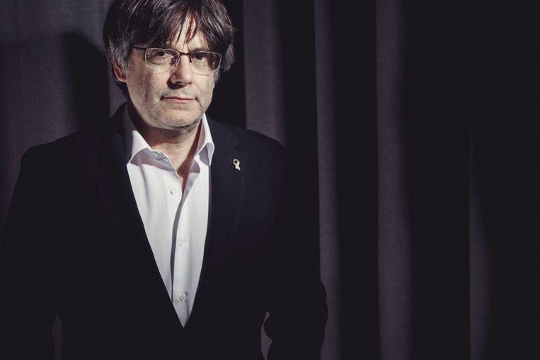 Carles Puigdemont. Beeld Stefaan Temmerman