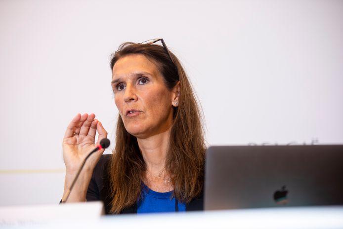 Sophie Wilmès, ministre des Affaires étrangères.