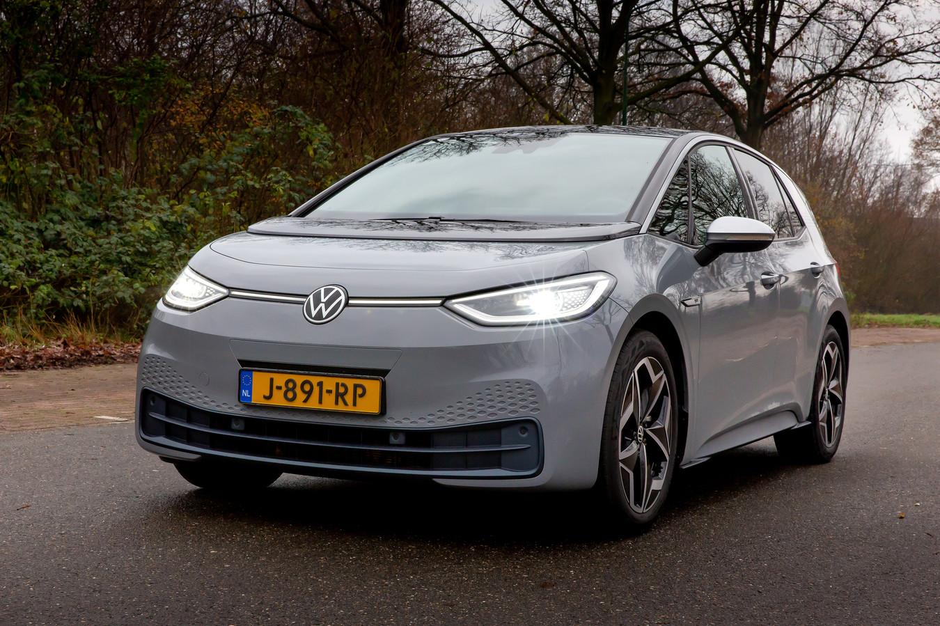 De komst van de volledig elektrische ID.3 vorig jaar heeft Volkswagen niet kunnen behoeden voor een forse boete van de Europese Unie