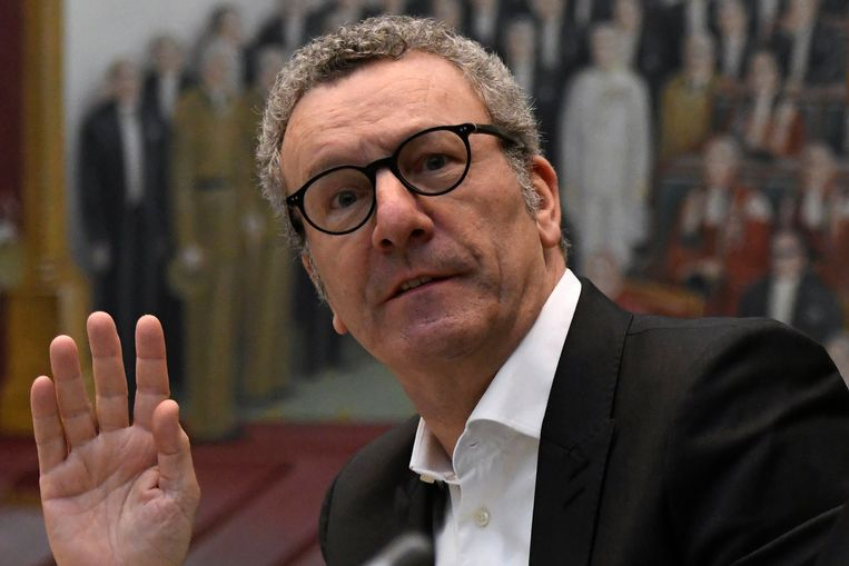 Brussels burgemeester Yvan mayeur Beeld Photo News