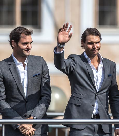 Federer en Nadal samen op de baan? Tennissers staan open voor dubbelspel