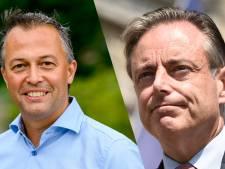 """Bart De Wever niet onder de indruk van ultimatum Egbert Lachaert: """"Als u stil bent, hoort u mijn knieën knikken van de schrik"""""""