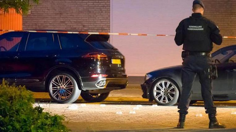 Leden van het groepje worden in het criminele milieu ook in verband gebracht met de moord op Vincent Jalink. Beeld anp