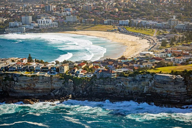 Bondi Beach, Australie. Beeld null